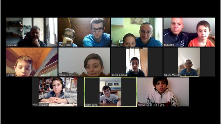 Bambini GSO Ballabio Zoom marzo 2020