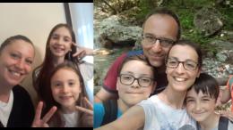 Le famiglie Buttironi e Codega 1 posto Festa della mamma 2020