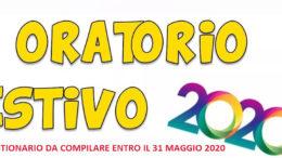 Logo oratorio 2020