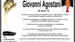 agostani necrologio