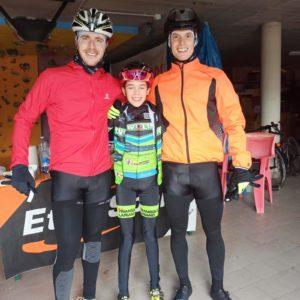 Alessio Rusconi e Andrea Maggi everesting