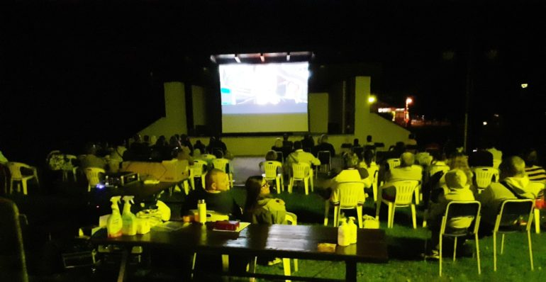 Cinema aperto parco Grignetta 2020