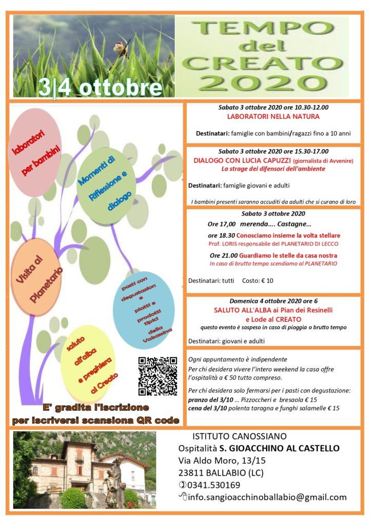 locandina 3-4 ottobre 2020 Ballabio_ D -