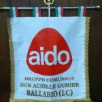 AIDO BALLABIO LOGO GAGLIARDETTO
