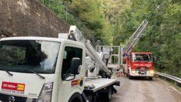 Caduta alberi via Resinelli 3 ottobre 2020 1
