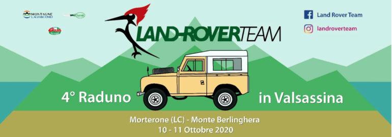 Morterone Land Rover Team 4 raduno Valsassina 2020