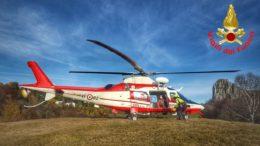 vigili del fuoco pompieri elicottero drago