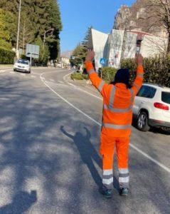 Ballabio incidente camion pick-up - polizia locale (2)