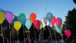 Foto palloncini Ballabio 2020