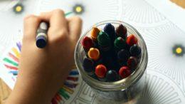 Giochi bambino pennarelli