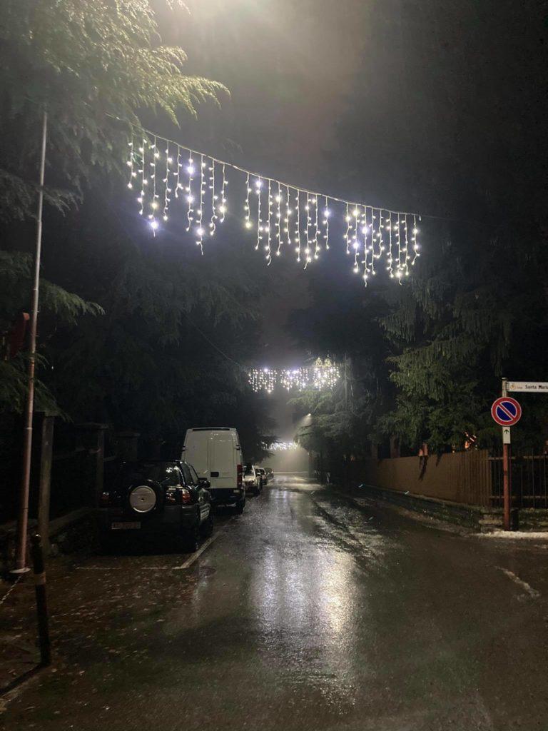 Luminarie natalizie Ballabio 2020 11
