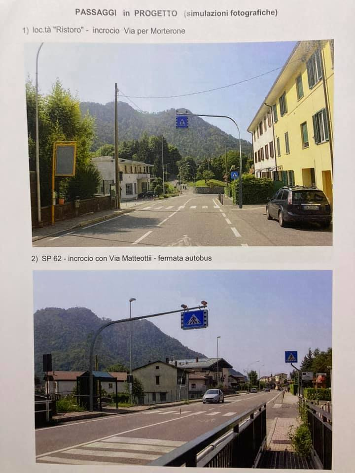 Nuovi impienti semaforici SP62 Ballabio 2020 2