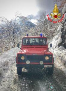 Vigili del fuoco Pompieri Saf Fuoristrada Neve